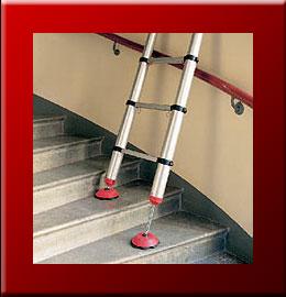 Prix chelle t lescopique barreaux ou marches plates for Tableau pour cage escalier